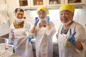 ミマモリ食堂 新メンバー頑張ってます!