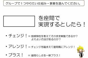 チャレンジ・アレンジ・プラス!